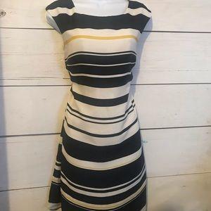 Loft Nautical striped Shift dress S/4